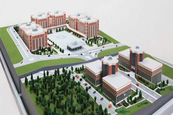 Bilecik Şeyh Edebali Üniversitesi kampüs projesi