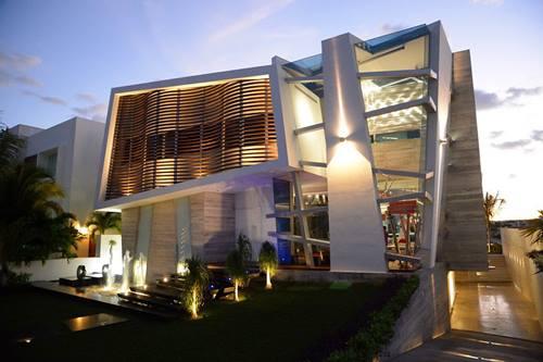 modern villa ilginç tasarımlar
