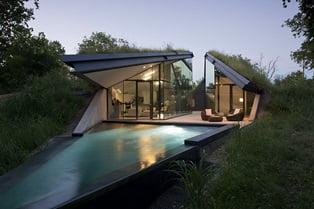 modern bir villa projesi görseli