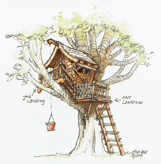 TreehouseADsketch
