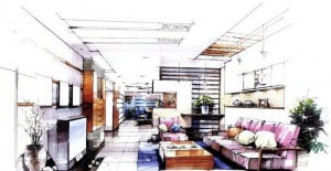 architectural-marker-rendering