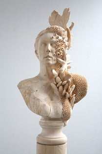 ahsap heykel sanatı