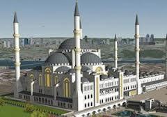 çamlıca cami inşaatı
