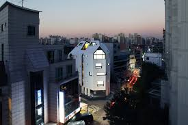 modern mimari apartman projesi