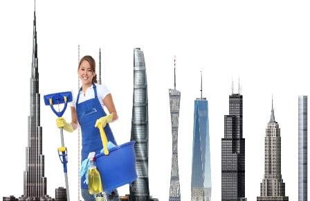 yüksek katlı yapıların cephe temizliği