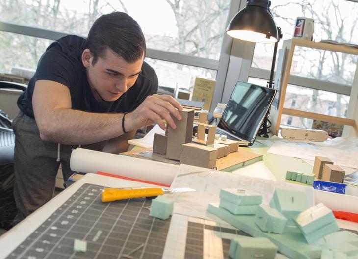 mimarlık öğrencileri ve hayat