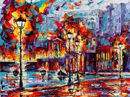 yağlı boya kent manzaraları